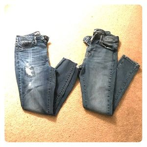 Mossimo High Rise Jeans Bundle